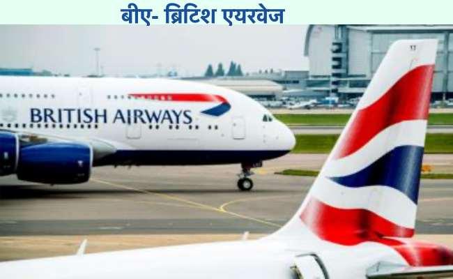 बीए फ़ुल फ़ॉर्म - ब्रिटिश airways