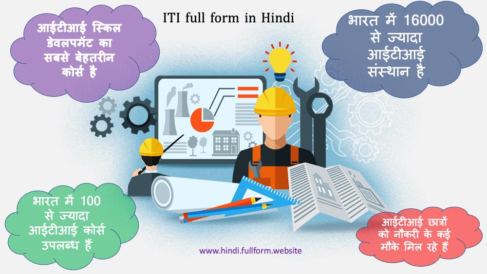 ITI full form Hindi me